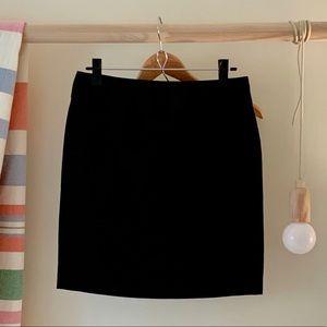 Banana Republic Stretch Black Pencil Skirt Size 4P